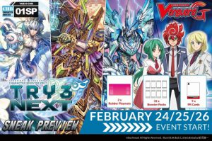 CardFight!! Vanguard: TRY3 NEXT Sneak Peek @ Orlando | Florida | United States