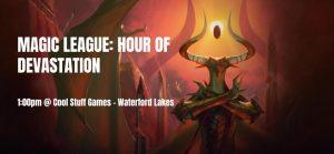 Magic League: Hour of Devastation @ Orlando   Florida   United States