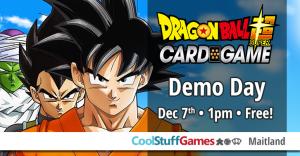 Dragon Ball Super Demo Day @ Cool Stuff Games - Maitland | Tampa | Florida | United States