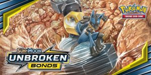 Pokemon Unbroken Bond Double Prize Support