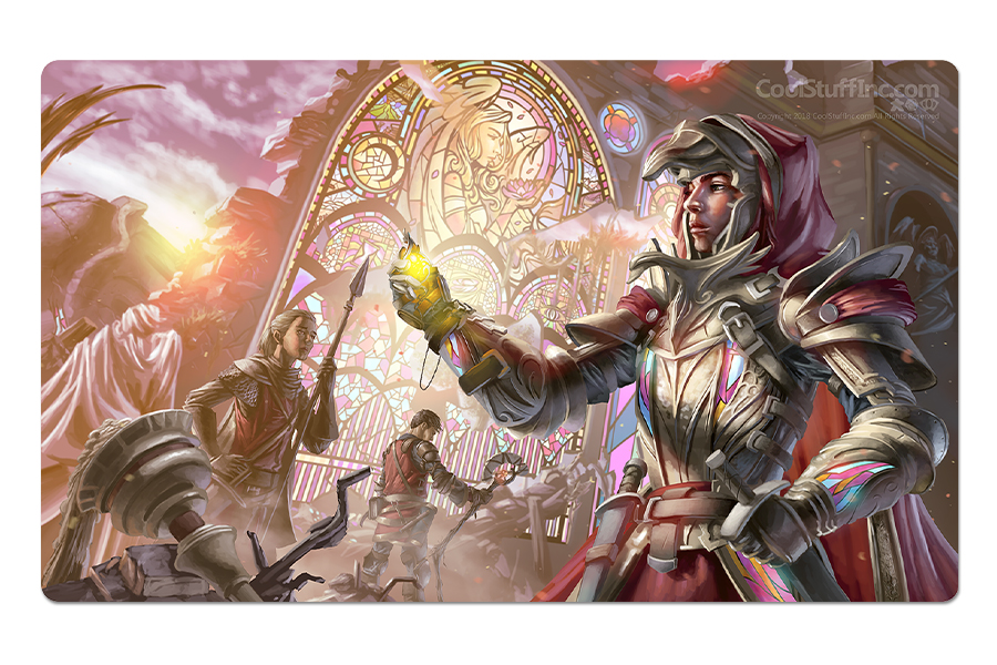 Faith Reborn Playmat