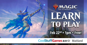 Magic: The Gathering Learn to Play @ Cool Stuff Games - Maitland