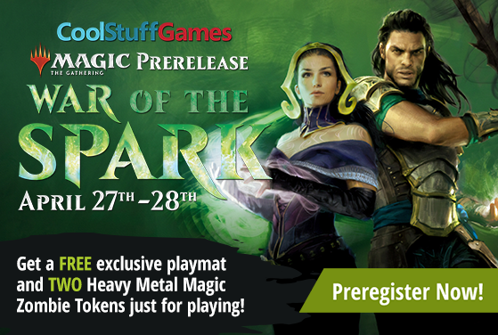 Cool Stuff Games - War of the Spark Prerelease