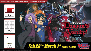 Cardfight! Vanguard Team Dragon's Vanity Sneak Peek @ Cool Stuff Games South Orlando