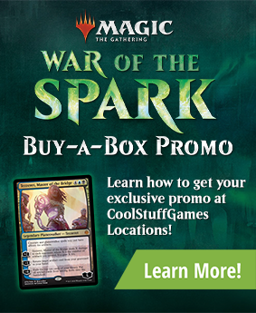 War of the Spark Buy-a-Box Promotion