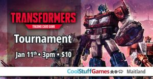 Transformers Tournament @ Cool Stuff Games - Maitland