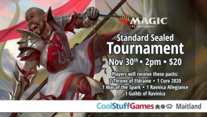 Standard Sealed Tournament @ Cool Stuff Games - Maitland