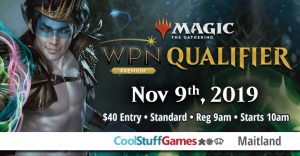 WPN Qualifier at Cool Stuff Games Maitland @ Cool Stuff Games - Maitland