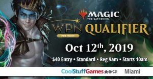 Wizards Play Network Qualifier @ Cool Stuff Games - Miami