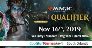 WPN Qualifier - Cool Stuff Games South Orlando @ Cool Stuff Games - South Orlando