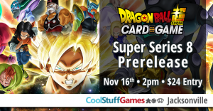Dragon Ball Super Series 8 Pre-release