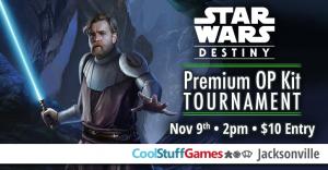 Star Wars: Destiny Premium Op Kit Tournament