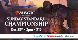 Sunday Standard Championship @ Cool Stuff Games Maitland