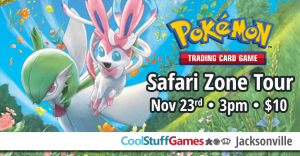 Pokemon: Safari Zone Tour