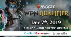 WPN Qualifier at Cool Stuff Games Jacksonville