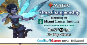 Magic: the Gathering Store Championship benefiting the Miami Cancer Institute @ Cool Stuff Games - Hollywood