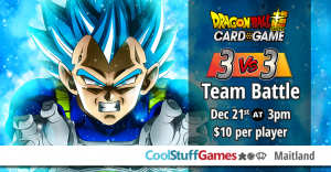 DBS 3 vs 3 Team Battle