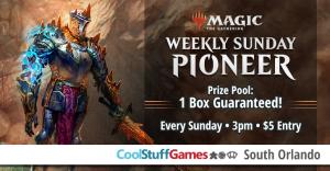 Magic Pioneer Sunday @ Cool Stuff Games - South Orlando
