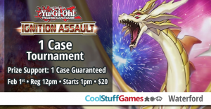 Yu-Gi-Oh! Ignition Assault Case Tournament