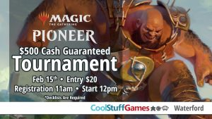 Magic: The Gathering Pioneer $500 Cash Tournament