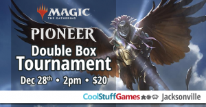 Magic, The Gathering: Pioneer Double Box Tournament