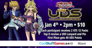 Yu-Gi-Oh! Winter UDS Qualifier @ Cool Stuff Games - Miami