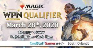 Wizards Play Network Qualifier - Pioneer