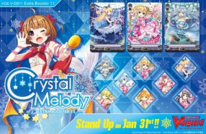 Cardfight! Vanguard Crystal Melody Sneak Peek @ Cool Stuff Games South Orlando
