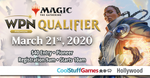Wizard's Play Network Qualifier at Cool Stuff Games - Hollywood @ Cool Stuff Games - Hollywood